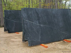Soapstone is a great choice for fireplace bricks and wood stoves.